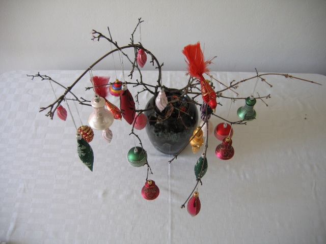 © Renate Egger. Weihnachtsbaum/Christmas tree, 2007. Installation, Fotografie/Installation, photography