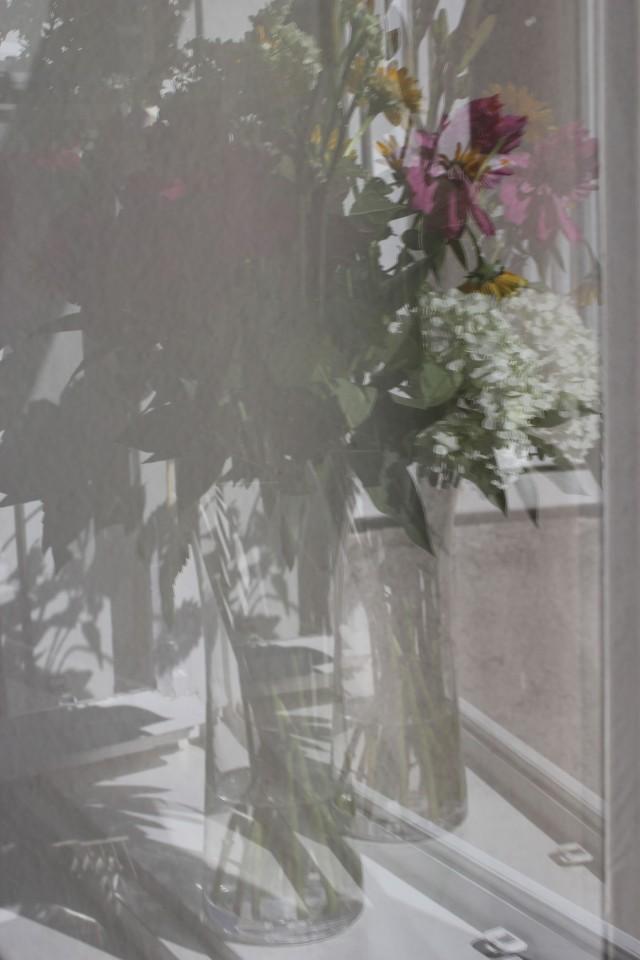 © Renate Egger. Blumenstrauß/Bunch of flowers. Installation, Fotografie, Installation, photography, 2012