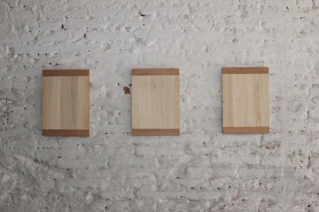 © Renate Egger. Holzplatten/Wooden plates, 1988-1992.  Trans Pulmina. 2012. Artfarm Pilastro. Pilastro di Bonavigo (VR), Italy