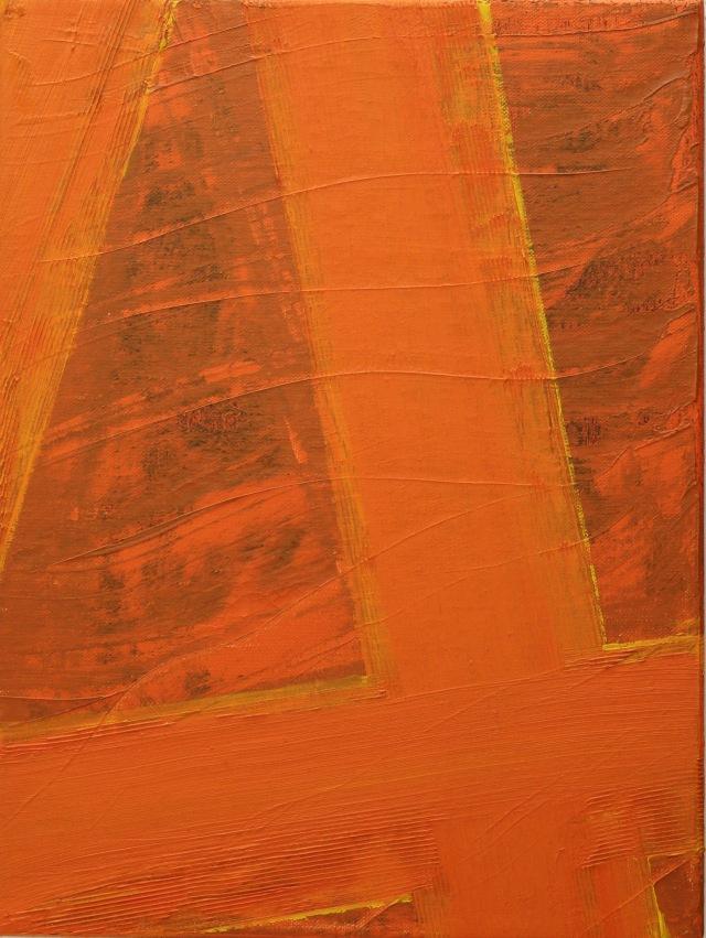 © Wilhelm Roseneder. Kreuzung I, 1996. Öl auf Leinwand/Oil on canvas, 40x60 cm