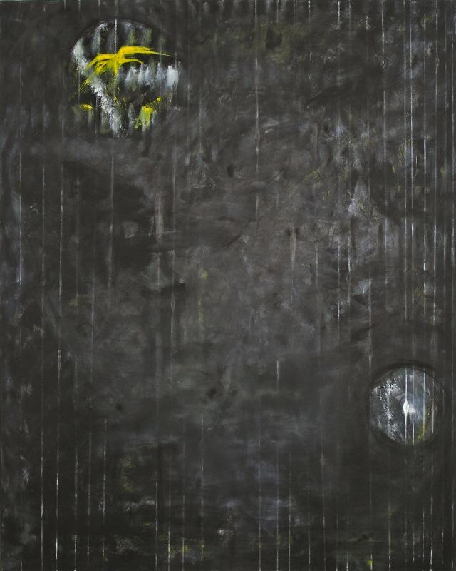 © Wilhelm Roseneder. Spiritus africus, 1991. Öl auf Leinen/Oil on canvas, 150x120 cm