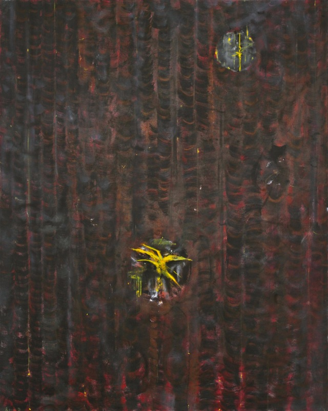 © Wilhelm Roseneder. Spiritus arabicus, 1991. Öl auf Leinen/Oil on canvas, 150x120cm