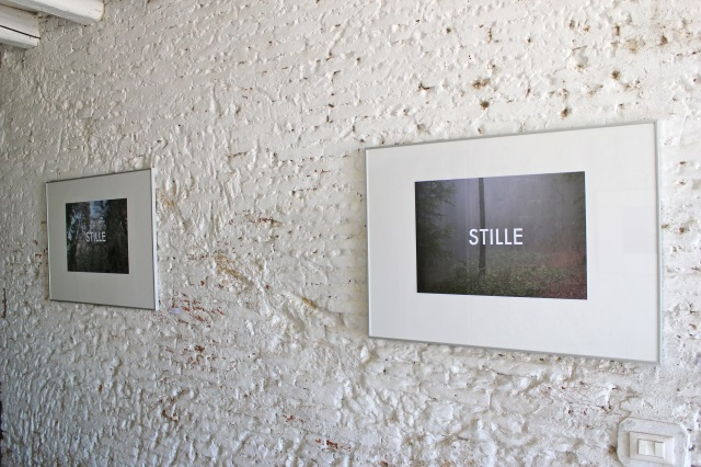 © Wilhelm Roseneder. STILLE, 2013/2015. Ultima Edizione. Artfarm Pilastro. Pilastro di Bonavigo, Verona, Italy, 2015