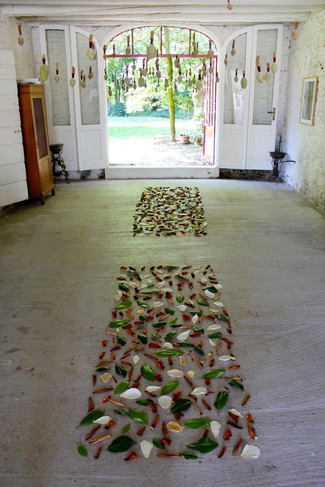 © Renate Egger. Herbarium Magnolia. Installation. Ultima Edizione. Artfarm Pilastro. Pilastro di Bonavigo, Verona, Italy, 2015