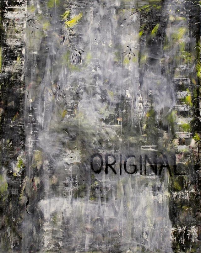 © Wilhelm Roseneder. Original, 1992. Öl auf Leinen/Oil on linen, 150x120cm